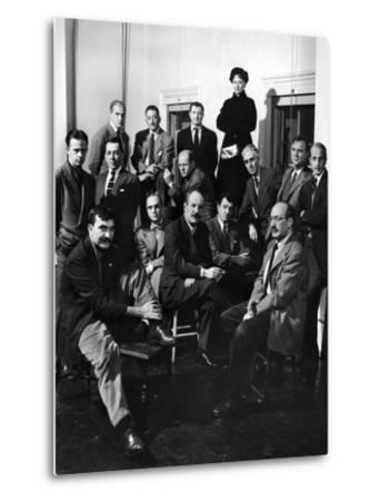 Group Portrait of American Abstract Expressionists, The Irascibles--Metal Print