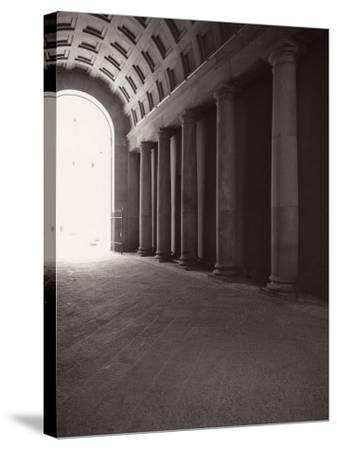 Ducal Palace. Passage for Carriages-Tommaso Minardi-Stretched Canvas Print