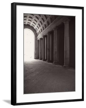 Ducal Palace. Passage for Carriages-Tommaso Minardi-Framed Premium Photographic Print