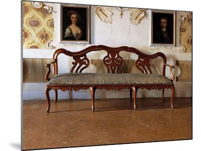 Sofa--Mounted Giclee Print