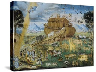 The Animals Enter Noah's Ark--Stretched Canvas Print