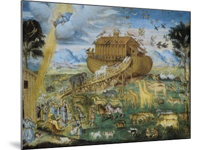 The Animals Enter Noah's Ark--Mounted Giclee Print