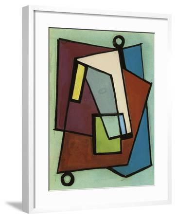 """Study Sketch for """"Composition N. 140""""--Framed Giclee Print"""