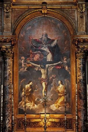 Eternal Father Blessing--Stretched Canvas Print