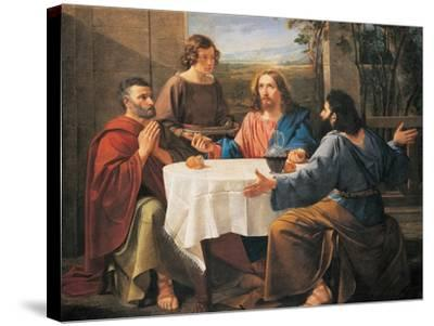 Supper at Emmaus--Stretched Canvas Print