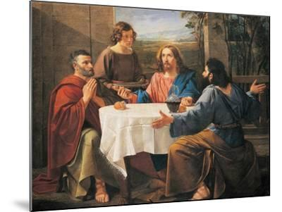 Supper at Emmaus--Mounted Giclee Print