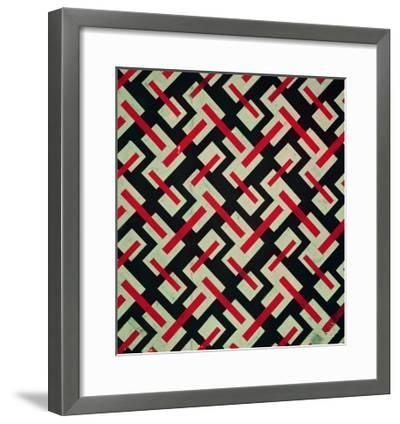 Sketches of New Designs on Fabric for the Textile Industry-Bernardo Bellotto-Framed Giclee Print