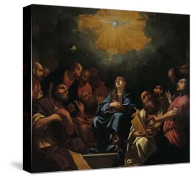 Pentecost-Hayez Francesco-Stretched Canvas Print
