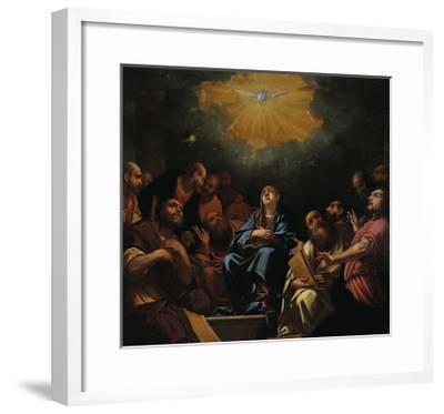 Pentecost-Hayez Francesco-Framed Giclee Print