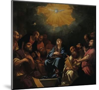 Pentecost-Hayez Francesco-Mounted Giclee Print