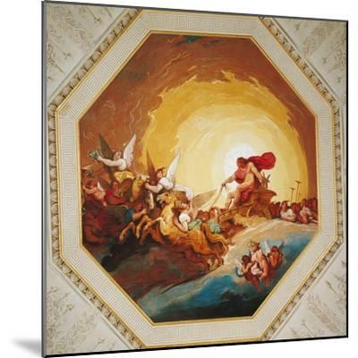 Apollo on the Chariot of Sun-Johannes Handschin-Mounted Giclee Print