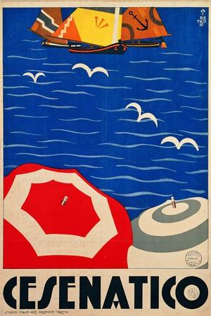 Cesenatico--Stretched Canvas Print
