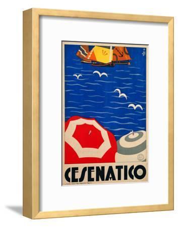 Cesenatico--Framed Giclee Print