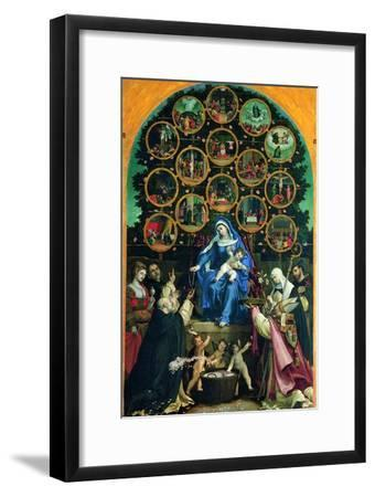 Madonna of the Rosary--Framed Giclee Print