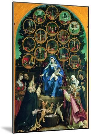 Madonna of the Rosary--Mounted Giclee Print