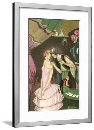 Fortune Telling--Framed Art Print