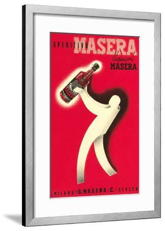 Masera Aperitif--Framed Art Print