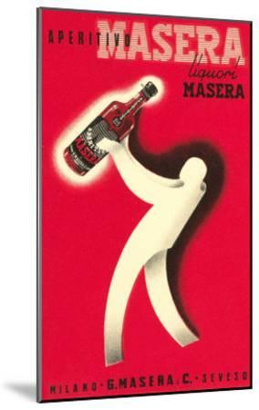 Masera Aperitif--Mounted Art Print