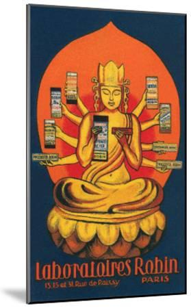 Multi-Armed Indian God--Mounted Art Print