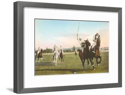 Polo Match--Framed Art Print