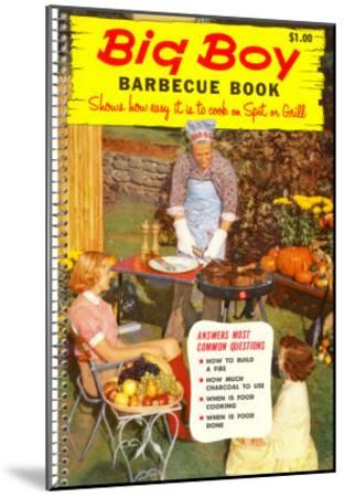 Big Boy Barbecue Book, Book Cover--Mounted Art Print