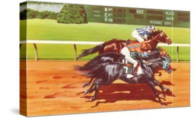 Photo Finish--Stretched Canvas Print