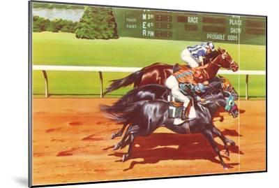Photo Finish--Mounted Art Print