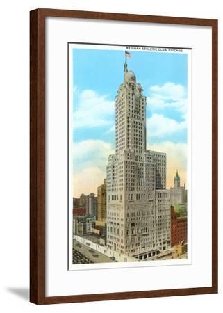 Medinah Athletic Club, Chicago, Illinois--Framed Art Print