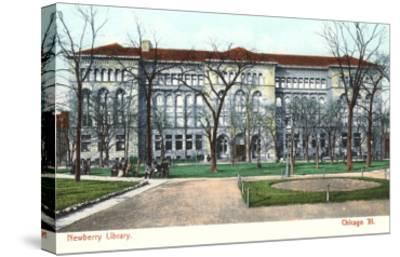 Newberry Library, Chicago, Illinois--Stretched Canvas Print