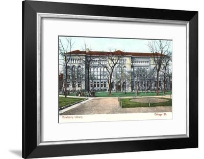 Newberry Library, Chicago, Illinois--Framed Art Print