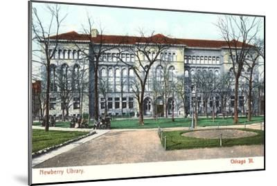 Newberry Library, Chicago, Illinois--Mounted Art Print