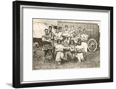 Troupe Ben-Ali, Ringling Brothers, 1915--Framed Art Print