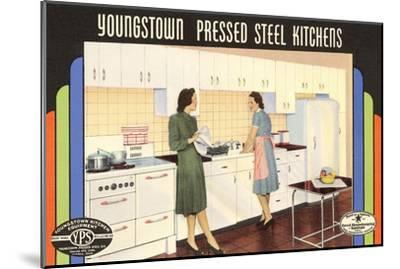 Youngstown Pressed Steel Kitchens--Mounted Art Print
