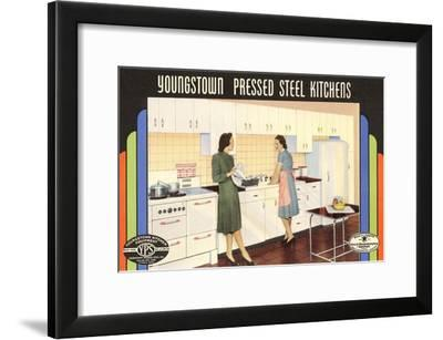 Youngstown Pressed Steel Kitchens--Framed Art Print