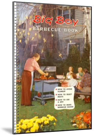 Big Boy Barbecue Book, Book Cover--Mounted Art Print