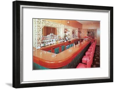 Cocktail Lounge--Framed Art Print