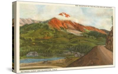 Red Mountain, Colorado--Stretched Canvas Print