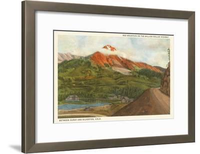 Red Mountain, Colorado--Framed Art Print