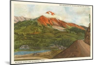 Red Mountain, Colorado--Mounted Art Print