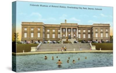 Museum of Natural History, Denver, Colorado--Stretched Canvas Print