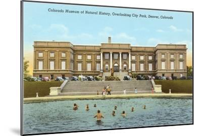 Museum of Natural History, Denver, Colorado--Mounted Art Print