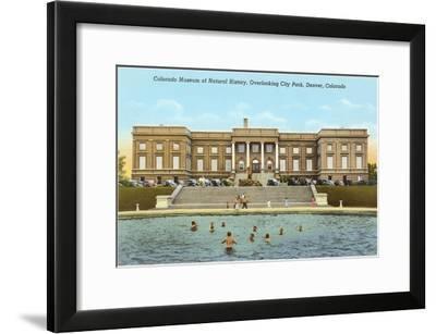 Museum of Natural History, Denver, Colorado--Framed Art Print