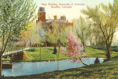 University of Colorado, Boulder--Stretched Canvas Print