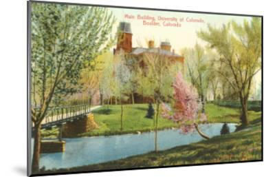 University of Colorado, Boulder--Mounted Art Print