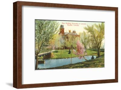 University of Colorado, Boulder--Framed Art Print
