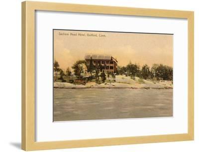 Sachem Head Hotel, Guilford, Connecticut--Framed Art Print