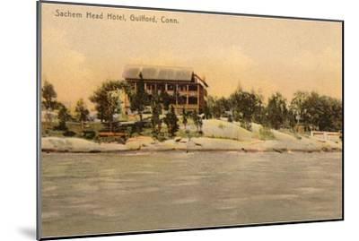 Sachem Head Hotel, Guilford, Connecticut--Mounted Art Print