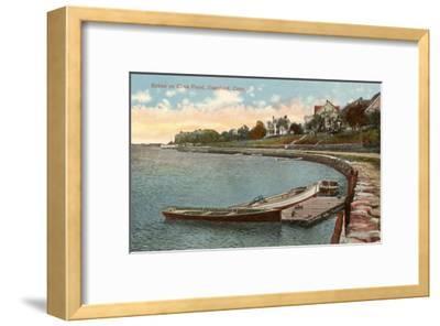 Cove Pond, Stamford, Connecticut--Framed Art Print