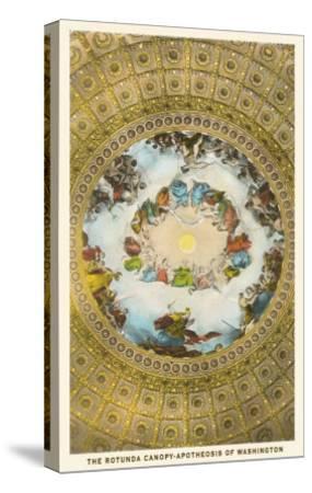 Rotunda Canopy, Capitol, Washington D.C.--Stretched Canvas Print