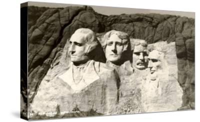 Mt. Rushmore, South Dakota--Stretched Canvas Print